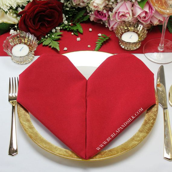 Red napkins 12 pack 20 x 20 inches red wedding napkins valentines red napkins 12 pack 20 x 20 inches red wedding napkins valentines day junglespirit Choice Image