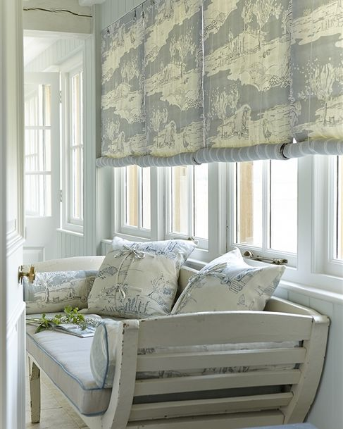 Made To Measure Swedish Blinds Patterned Striped Or Plain Kitchen Bathroom