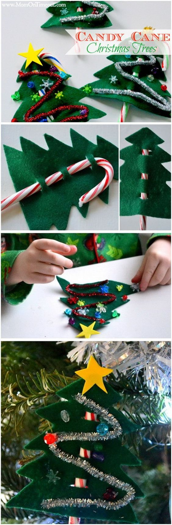 30 creative diy christmas ornament ideas kids crafts pinterest