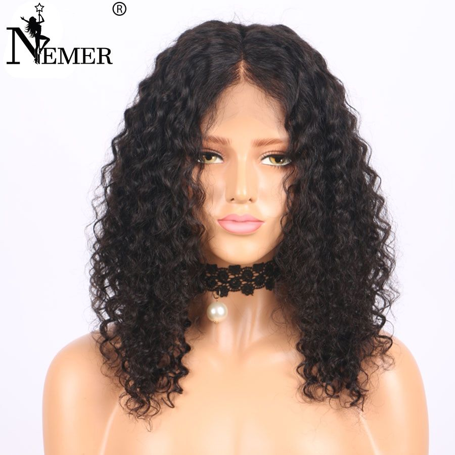 Human Hair Lace Wigs Lace Wigs Just 13x6 Curly Lace Front Human Hair Wigs With Baby Hair Bleached Knots Brazilian Remy Lace Frontal Wigs Pre-plucked 150% Density
