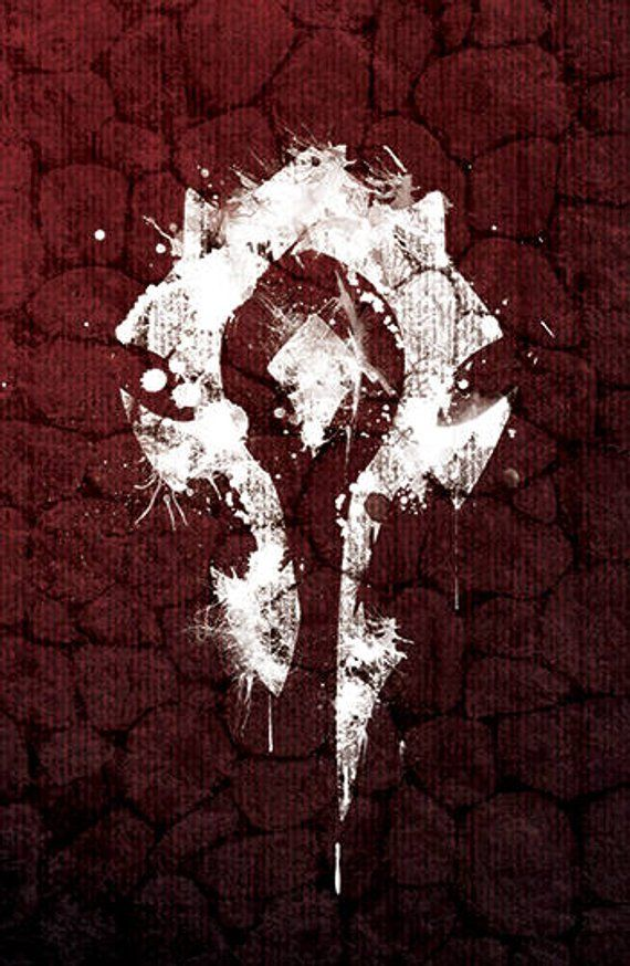 World of Warcraft - Horde Faction Icon Poster   Products in