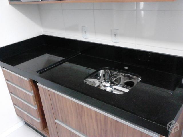 Pia De Cozinha Em Granito Preto 1 50cm S Cuba Inox Granito Para Cozinha Pias De Cozinha Cozinha Granito