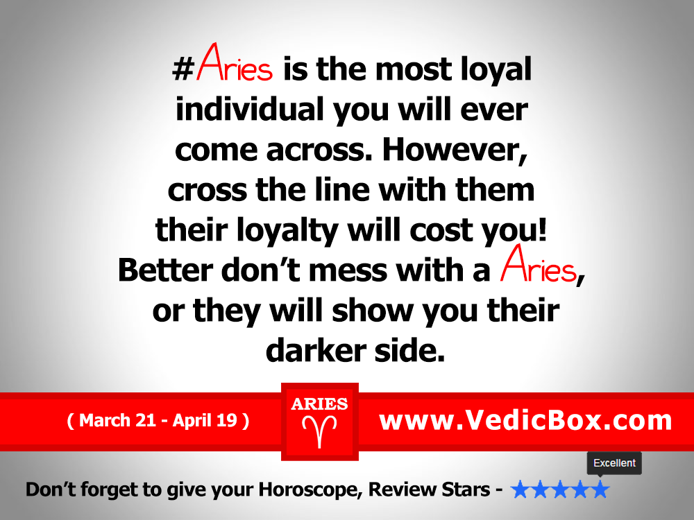 Aries Horoscope Facts By Facebookarieshubs 12