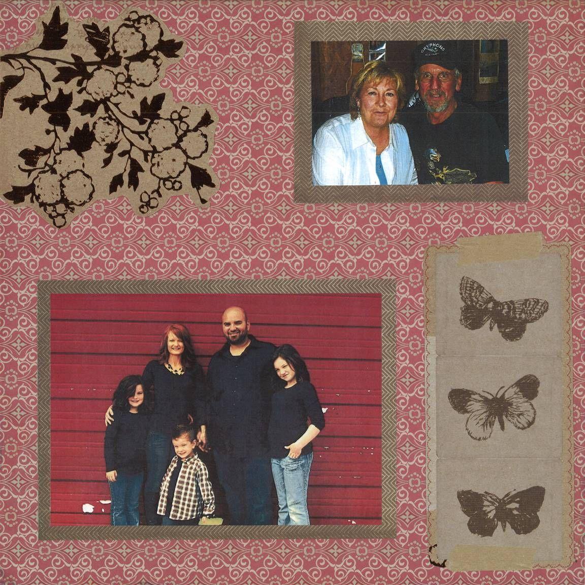 Scrapbook ideas grandma - Grandmother S Alzheimer S Scrapbook Page 26