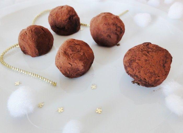 Truffes chocolat orange #truffesauchocolat truffes-au-chocolat #truffesauchocolat
