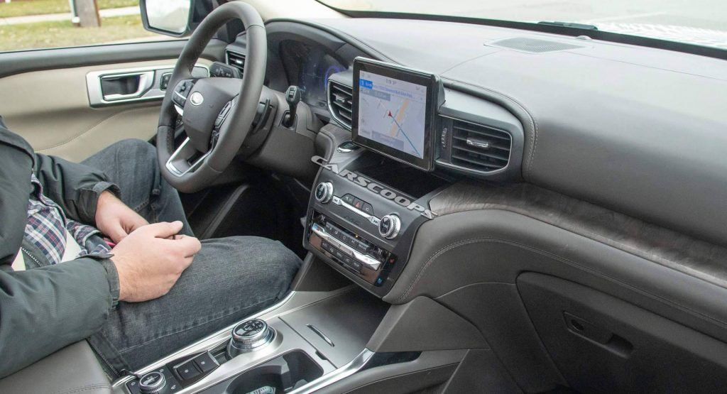 2020 Ford Explorer Interior Fully Uncovered In New Spy Shots Ford Explorer Interior 2020 Ford Explorer Ford Explorer