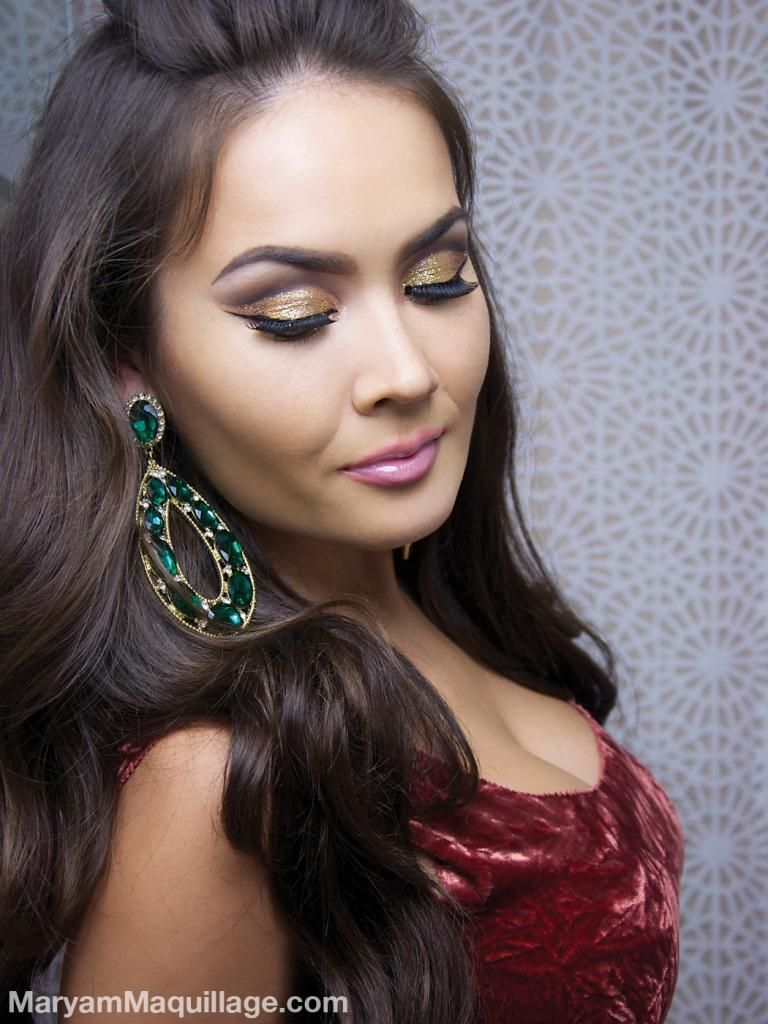 """! Maryam Maquillage ! """"DiscoBall"""" Glitter Makeup for NYE"""