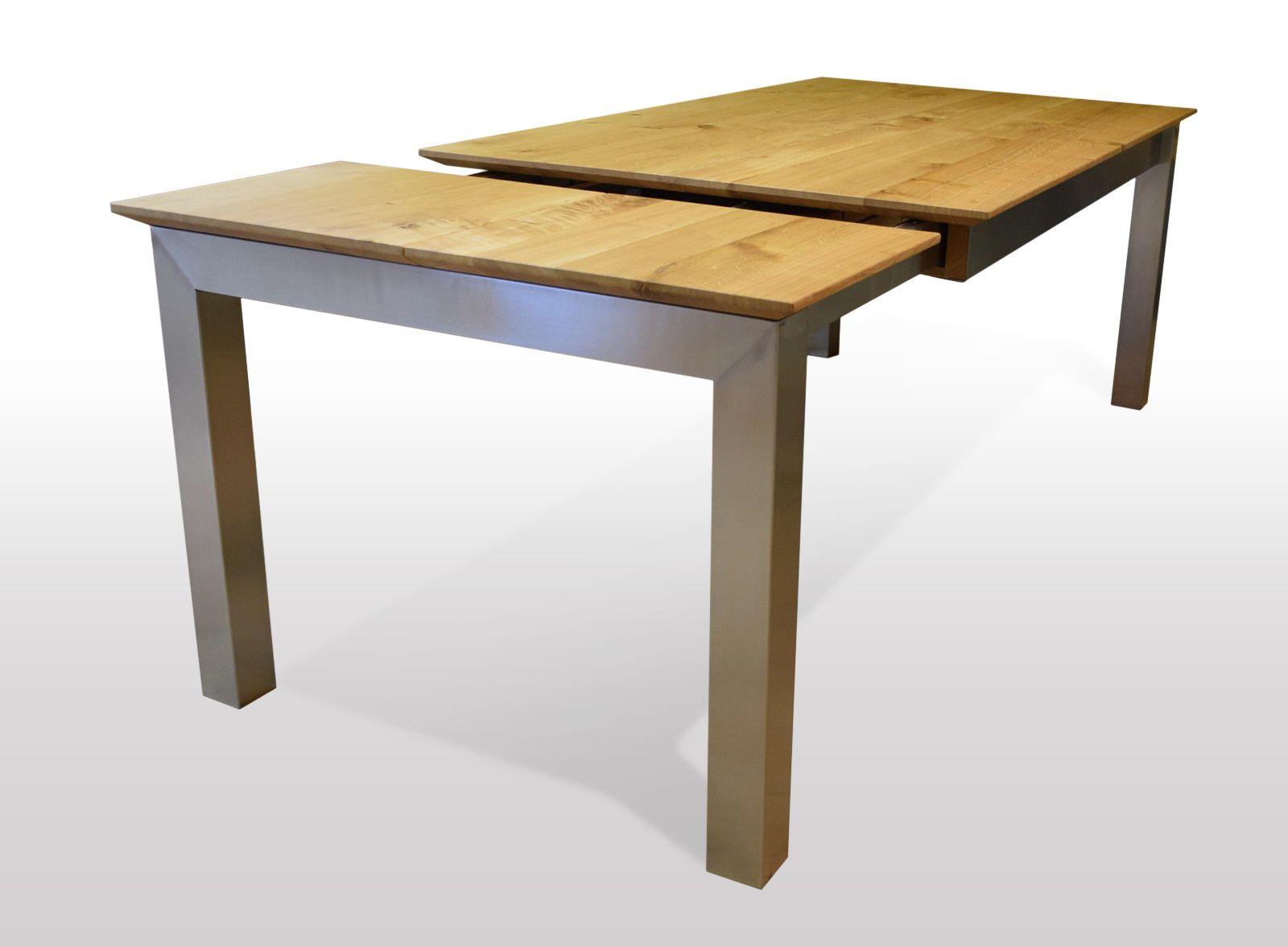 Tisch Wildeiche massiv Breite 90cm / Länge wählbar