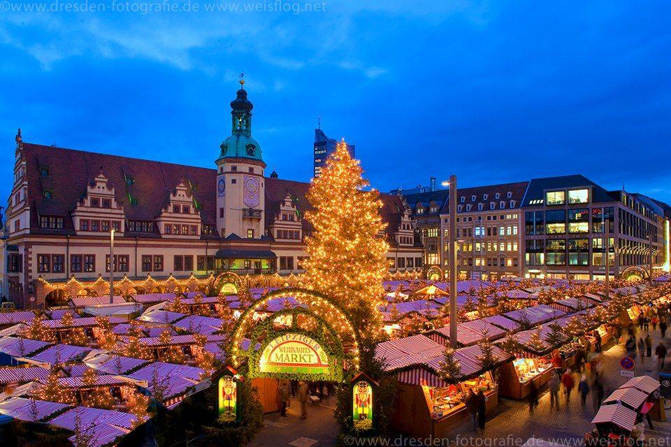 weihnachtsmarkt in leipzig eastern germany christmas. Black Bedroom Furniture Sets. Home Design Ideas