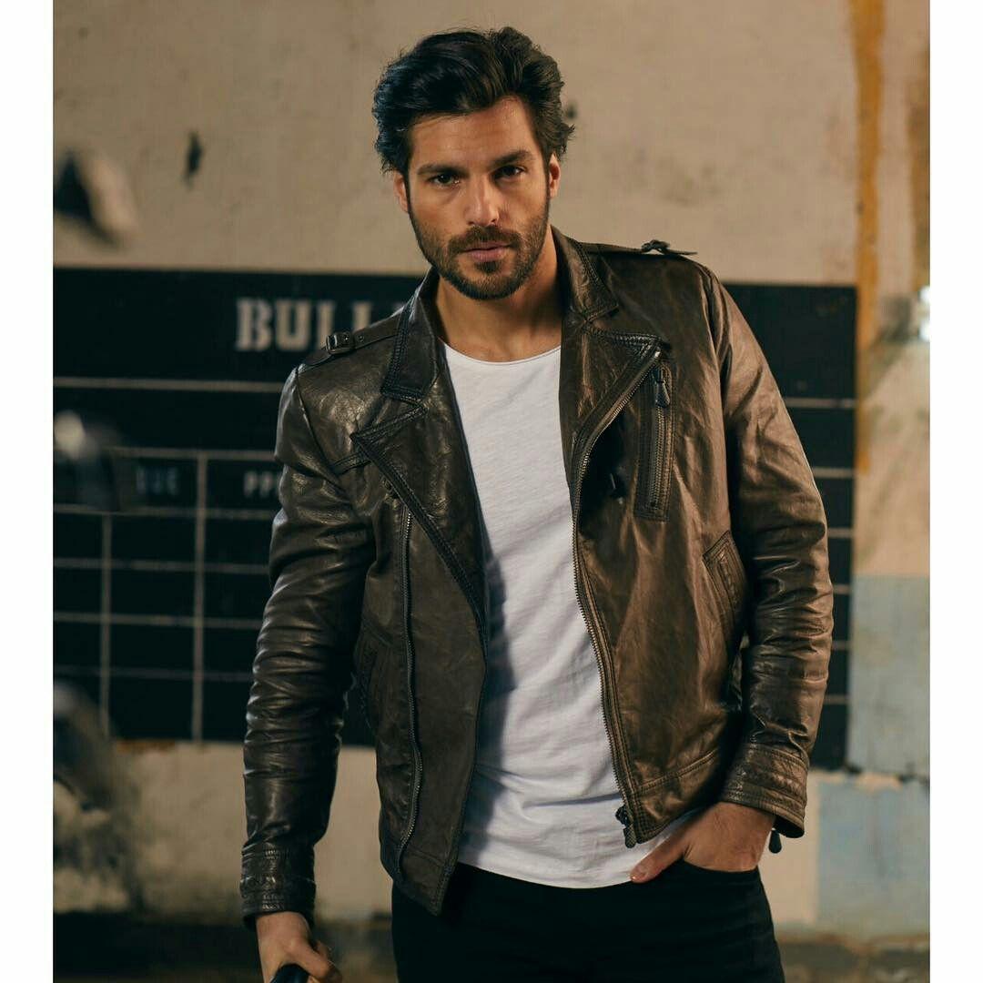 Serkan Cayoglu Leather Jacket Men Style Leather Jacket Outfit Men Leather Jeans Men [ 1080 x 1080 Pixel ]
