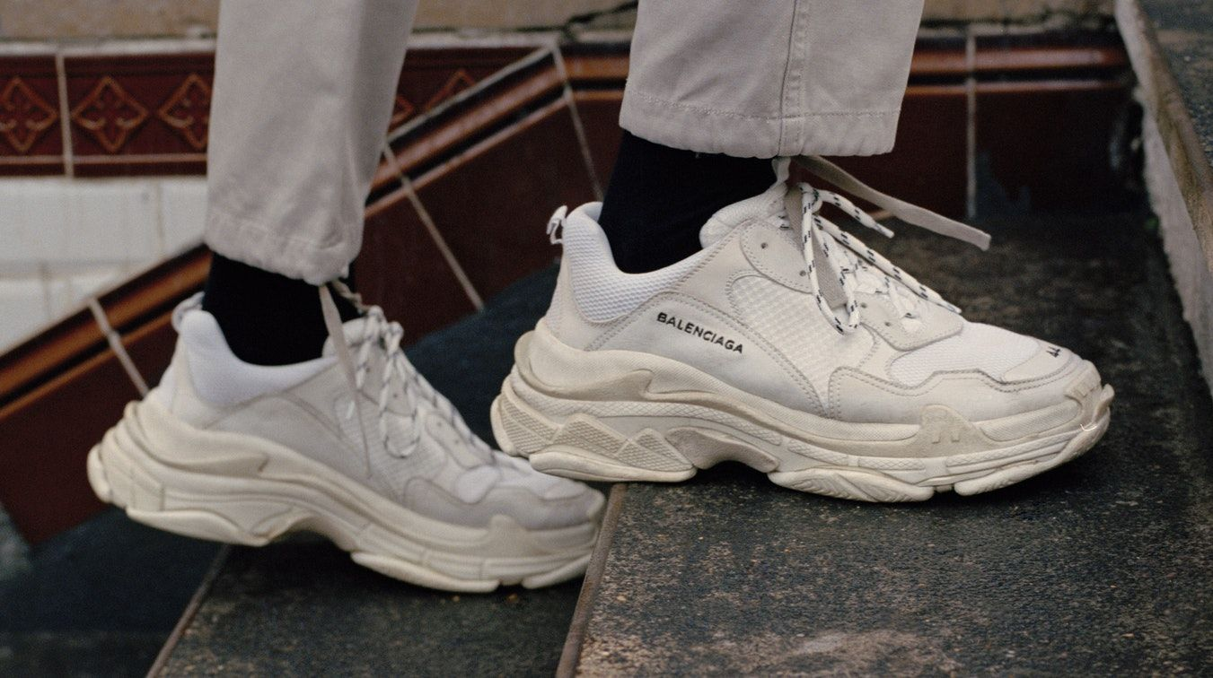 c15156940d6 Balenciaga Triple S for MatchesFashion | Source: Courtesy Crocs Shoes, Dad  Shoes, Men's