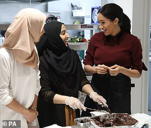 Made made comment at the kitchen where survivors of the Grenfell Tower fire have bonded over their shared love of food