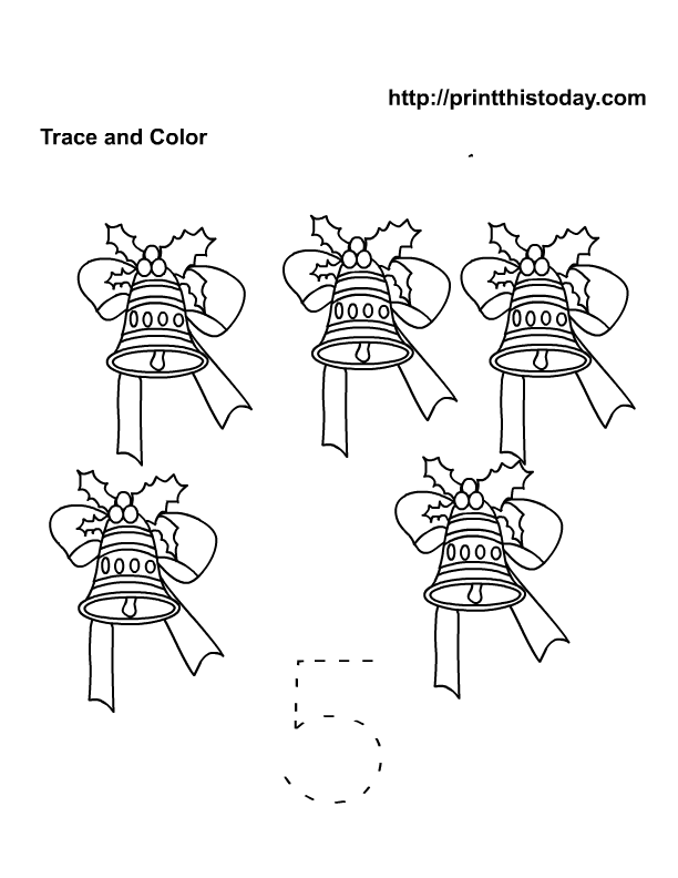 Number 5 preschool math tracer | Free Printable Worksheets and ...