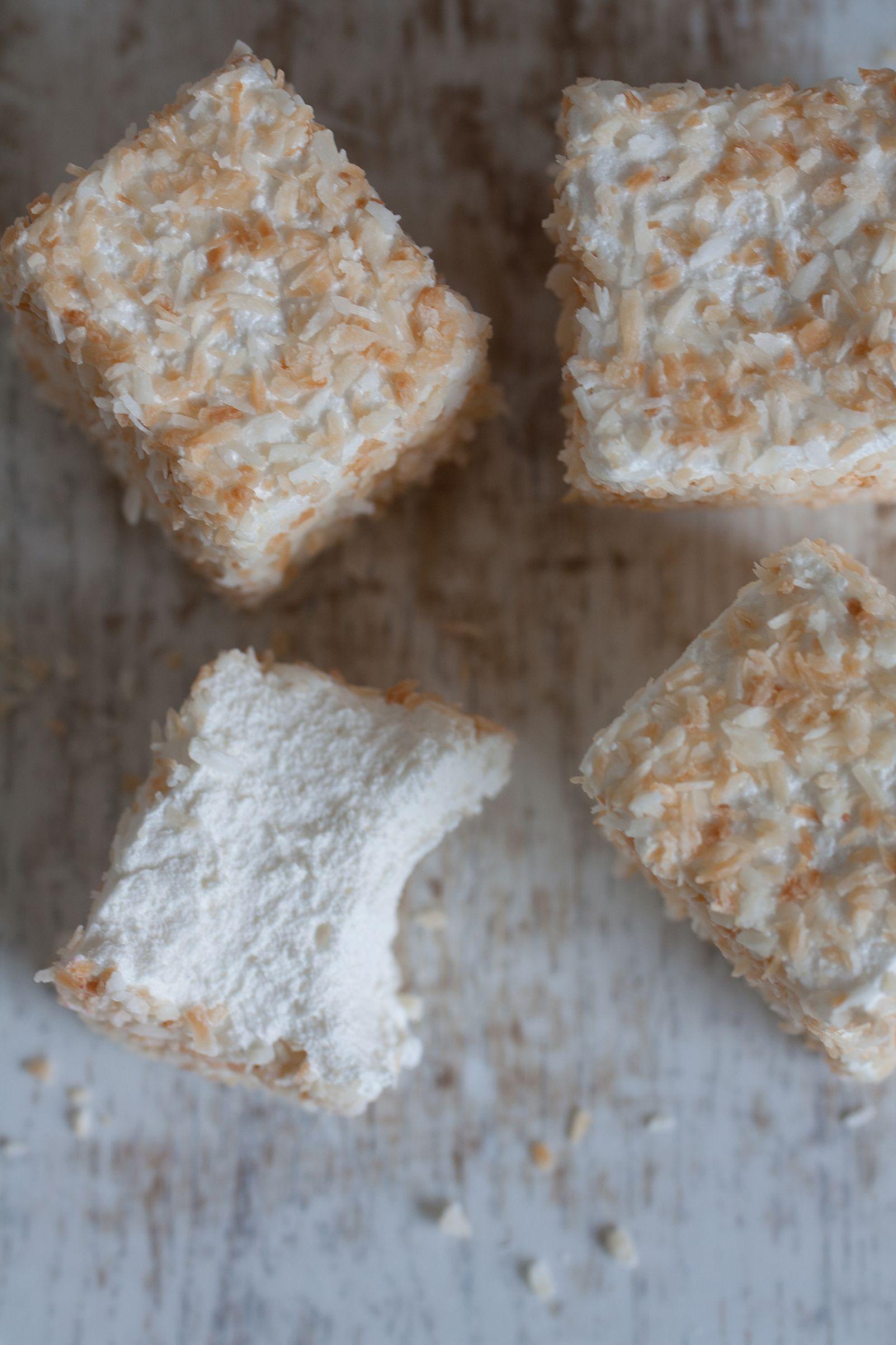 Toasted Coconut A #healthymarshmallows