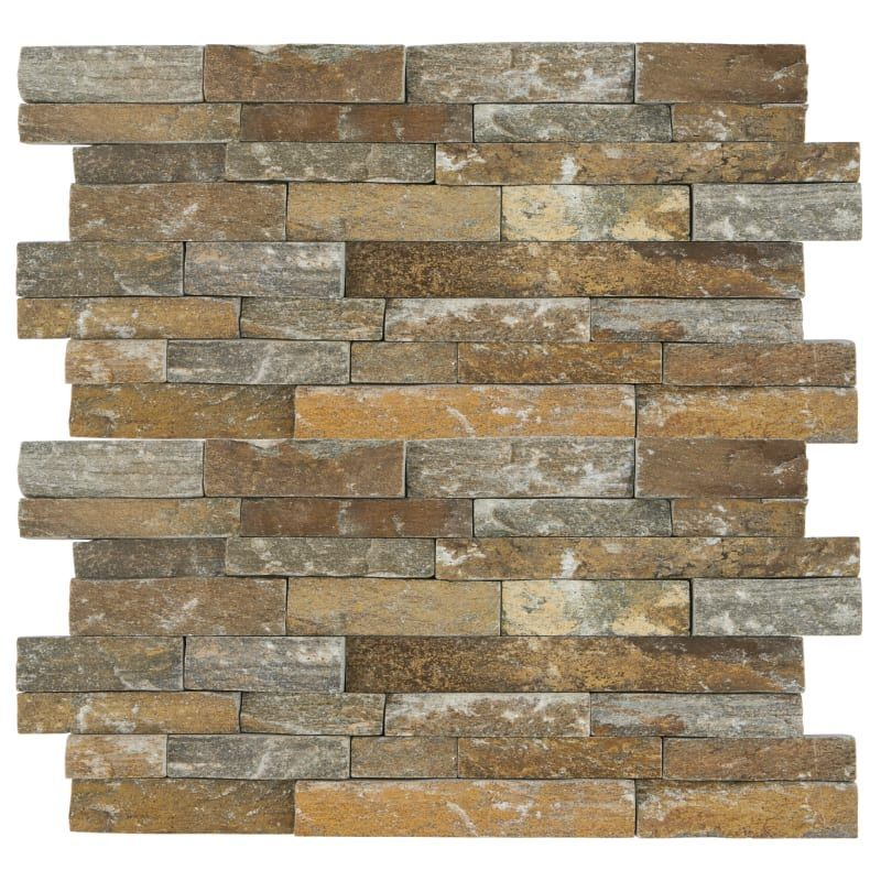 Daltile S624stack1t Stacked Stone 24 Quot X 6 Quot Rectangle Hardscape Wall Tile Tex Imperial Falls Stacked Stone Stacked Stone Walls Natural Stone Tile