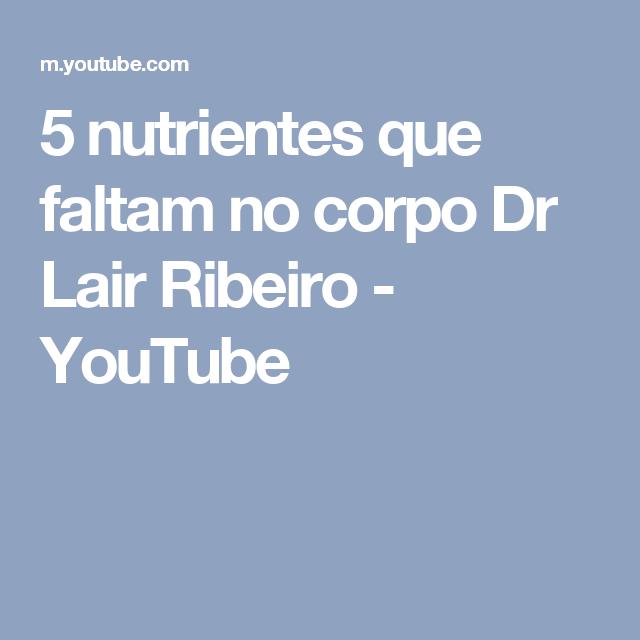 5 nutrientes