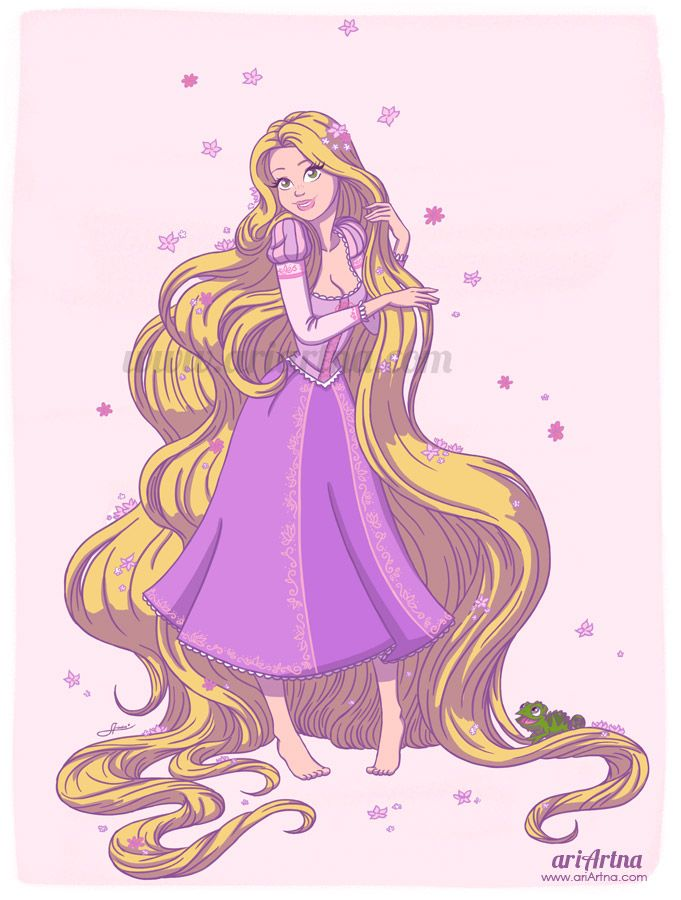 Tangled, princess Rapunzel - Disney collection by ariartna on deviantART