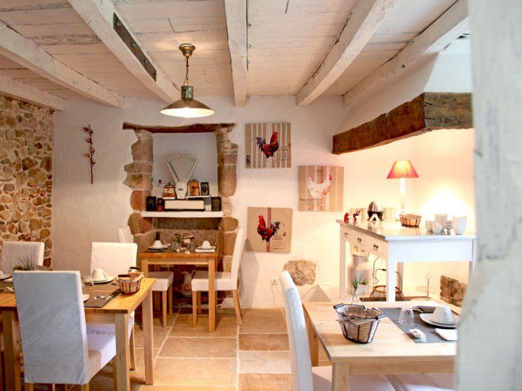 salle manger au dcor de campagne - Salle A Manger Campagne