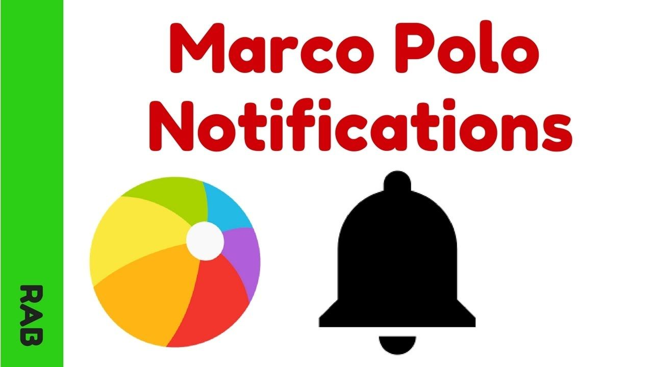 Marco Polo App Notification Settings | Video Messaging Apps ...