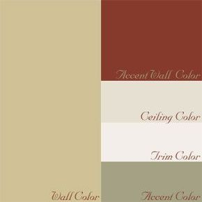 french country cottage paint color palette - Google Search ...