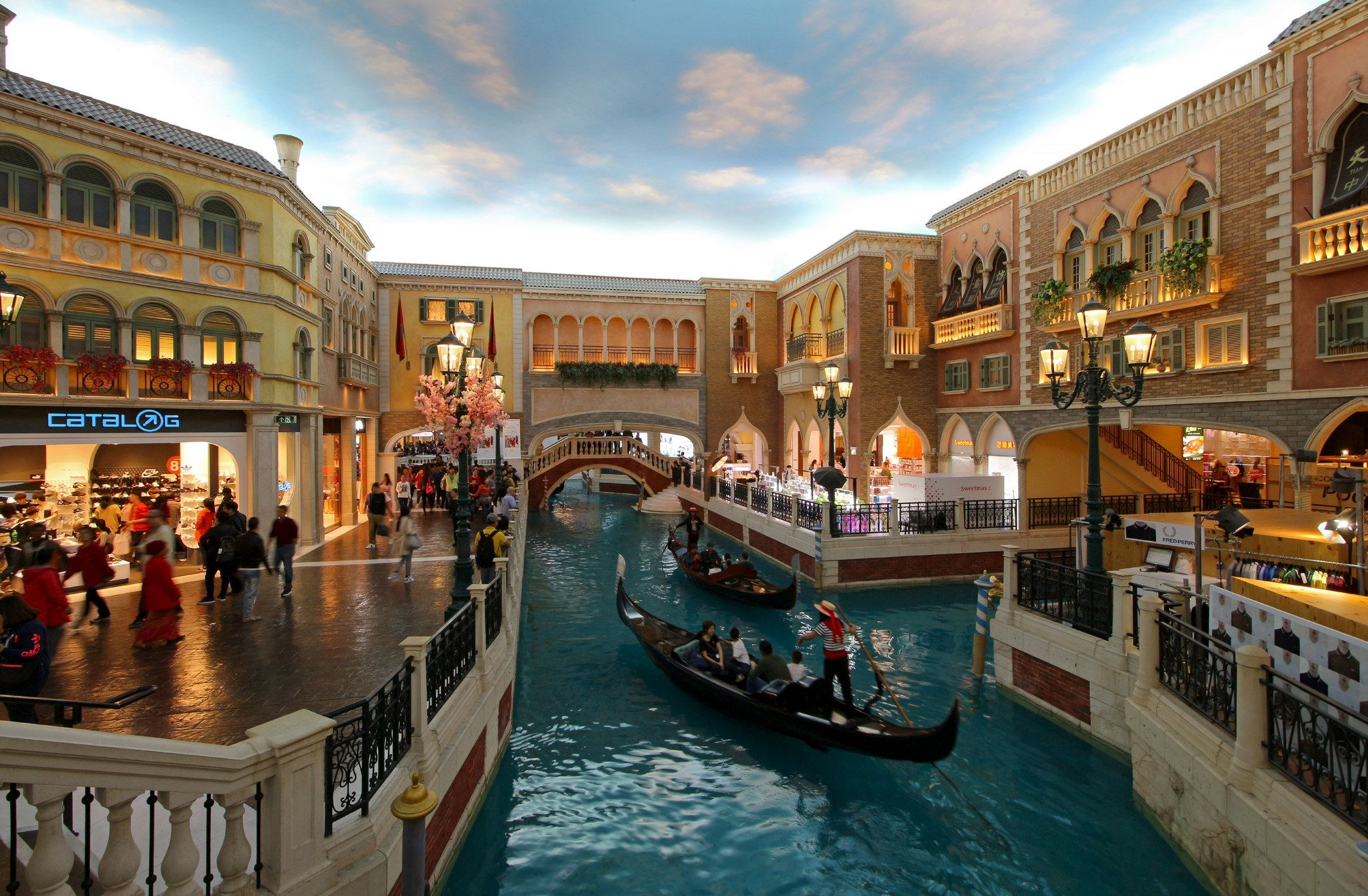 Grand canal shoppes the venetian macau a tiny fraction of the httpsflicps4z5im grand canal shoppes the venetian macau the grand canal shoppes inside the venetian hotel resort casino in macau china altavistaventures Images