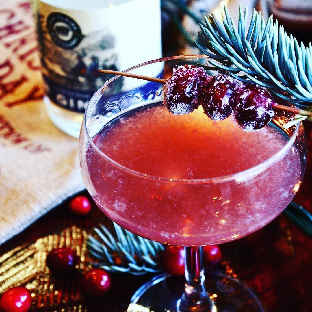 Looking For Something New To Sip While You Enjoy Your Many Holiday Meals Next Week Quenchs Contributing Editor Holiday Recipes Christmas Gin Classic Holiday