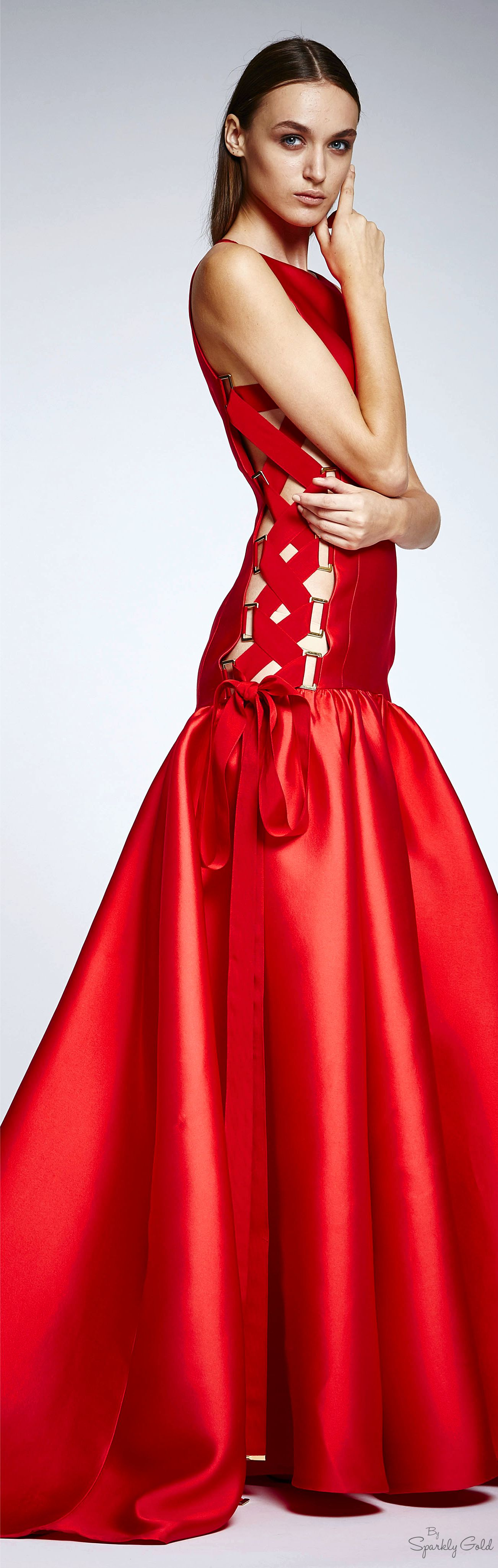 Zuhair murad spring rtw red my favourite colour