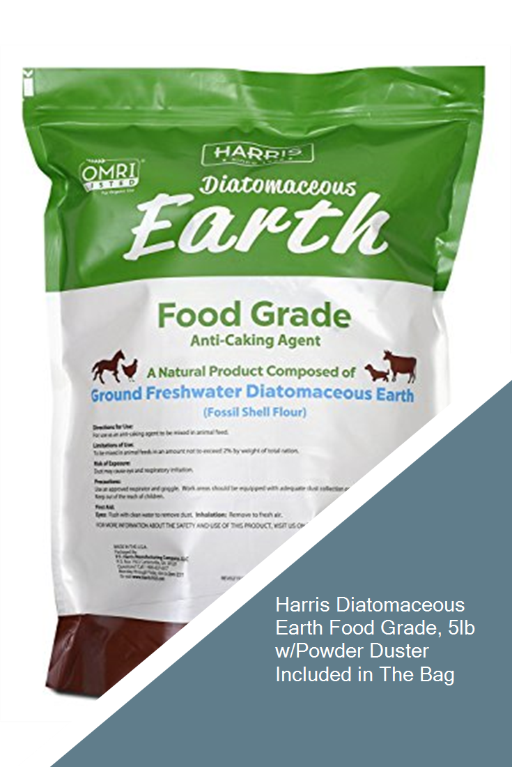 Harris Diatomaceous Earth Food Grade, 5lb w/Powder Duster