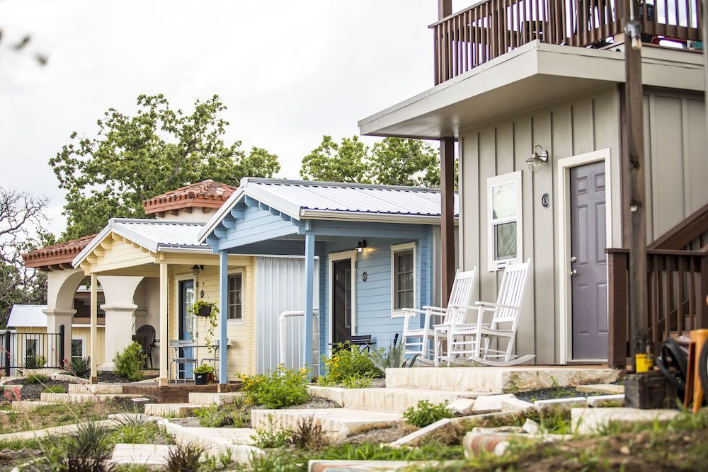 Which Tiny Home Community Would You Call Home Tiny House Community Building A Tiny House Tiny House Village