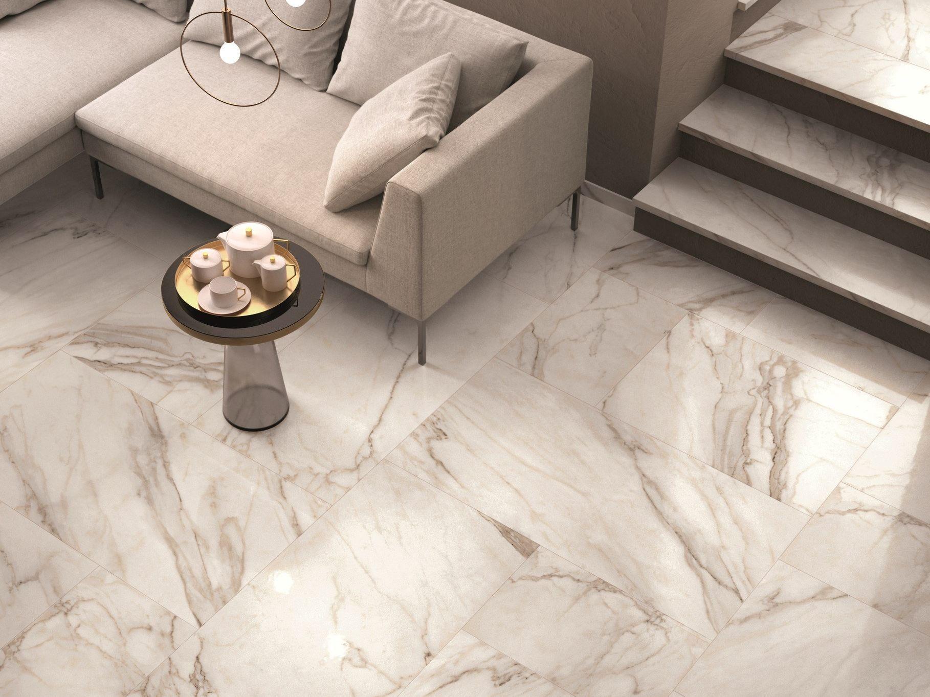 Golden calacatta mix floor anticato a home decor - Flaviker fliesen ...