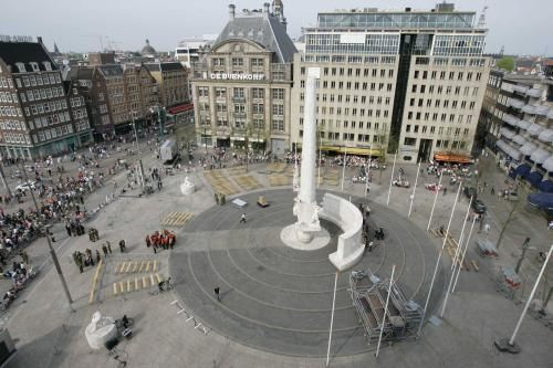 Quickly visited de dam in amsterdam the netherlands once for Ostello amsterdam piazza dam