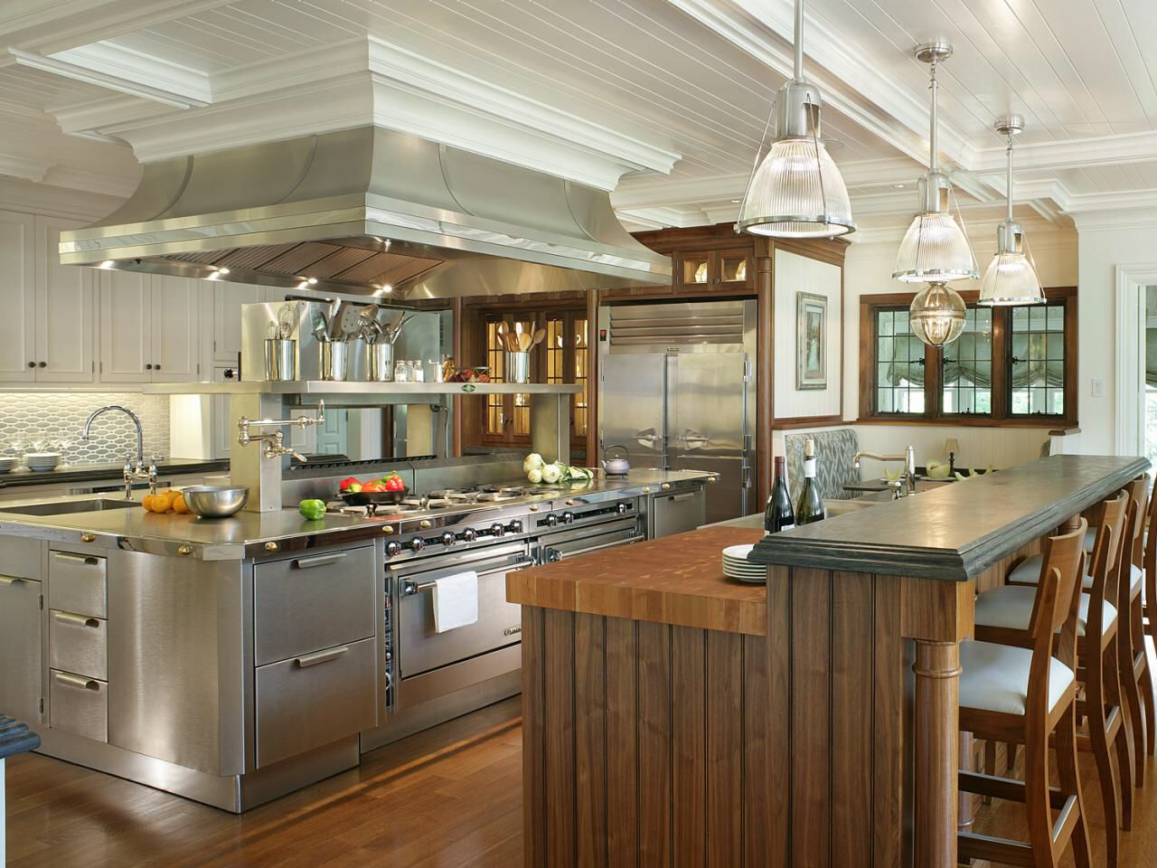 27 luxury kitchens that cost more than 100 000 incredible - A Huge Kitchen With Multiple Islands Stainless Steel Will Be
