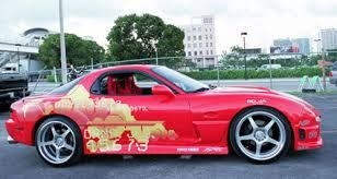 Mazda RX7 from 2 fast 2 furious