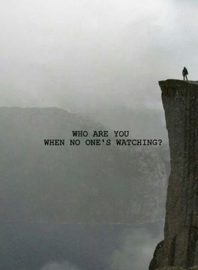 Im The One Standing On The Edge Feeling Like Im In An Abyss While