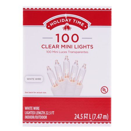 Holiday Time 100 Clear Mini Lights, 245\u0027 in 2018 Instagram links