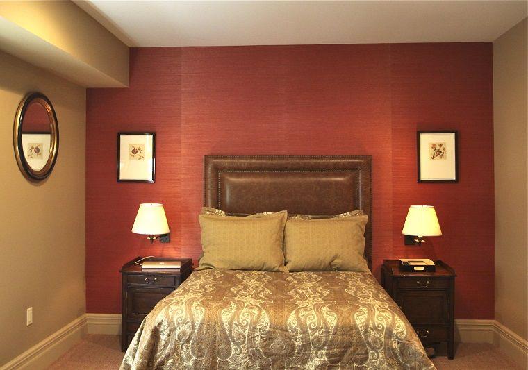 colore-pareti-camera-da-letto-rosso-oro | Idee & Ispirazioni ...