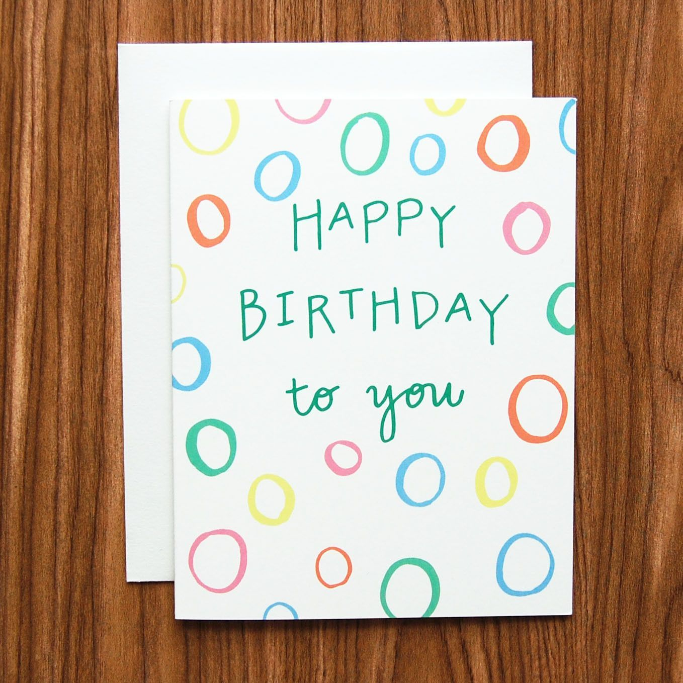 Wish A Friend Or Family Member Happy Birthday With This Card