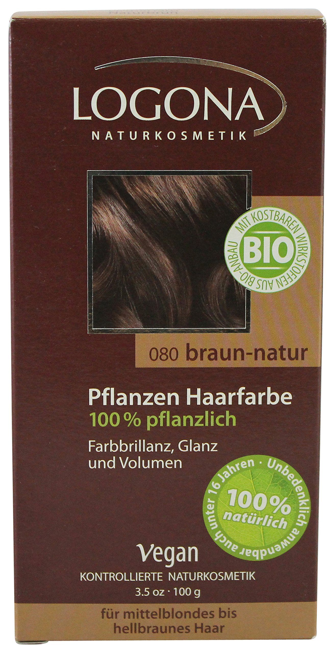 Logona herbal hair color natural brown fl oz since we are not