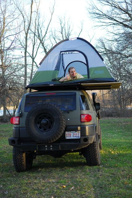Vehicle & Behold The Ghetto RTT - Toyota FJ Cruiser Forum | DIY ? Outdoor ...