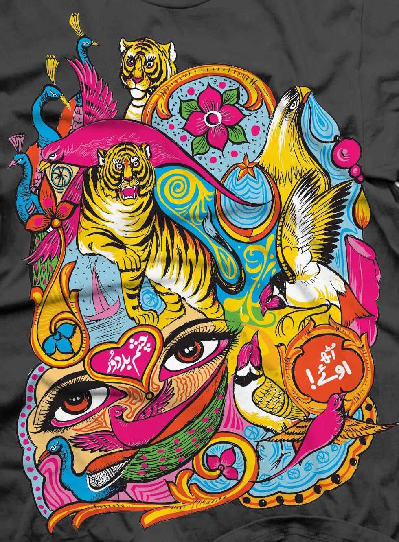 Graphic Pakistani Truck Art Truck art pakistan, Pakistan