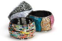 Recycled fashionable bangles
