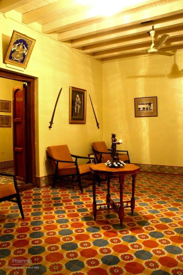Athangudi Tiles Crafts of India Indian home design