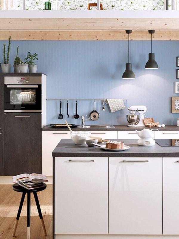 Alles, was das Küchenherz begehrt! Kontrastreich ist die - küche magnolia hochglanz