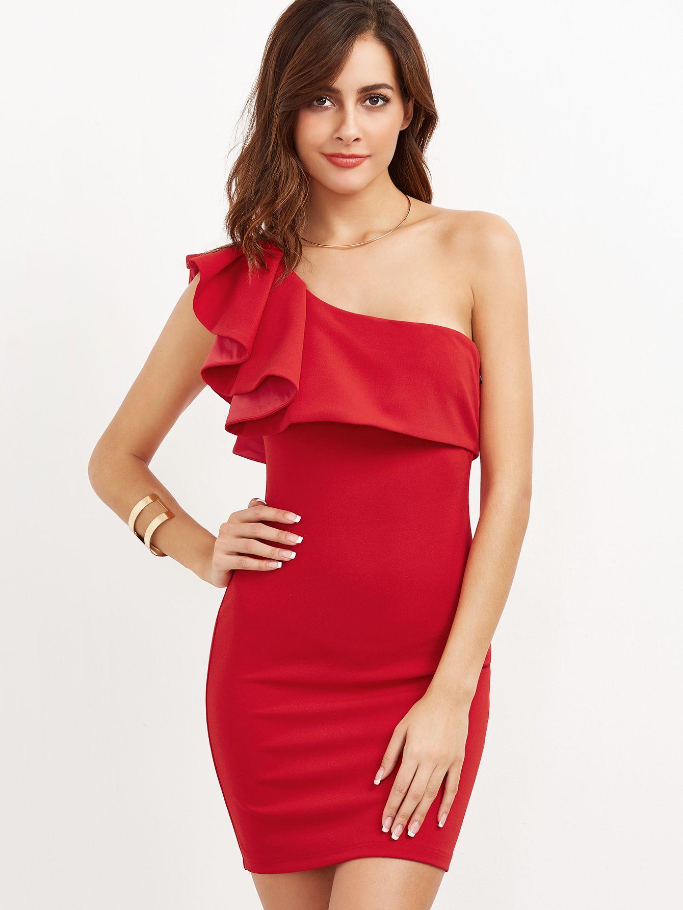 Park Art|My WordPress Blog_Red Ruffle Dress Long Sleeve