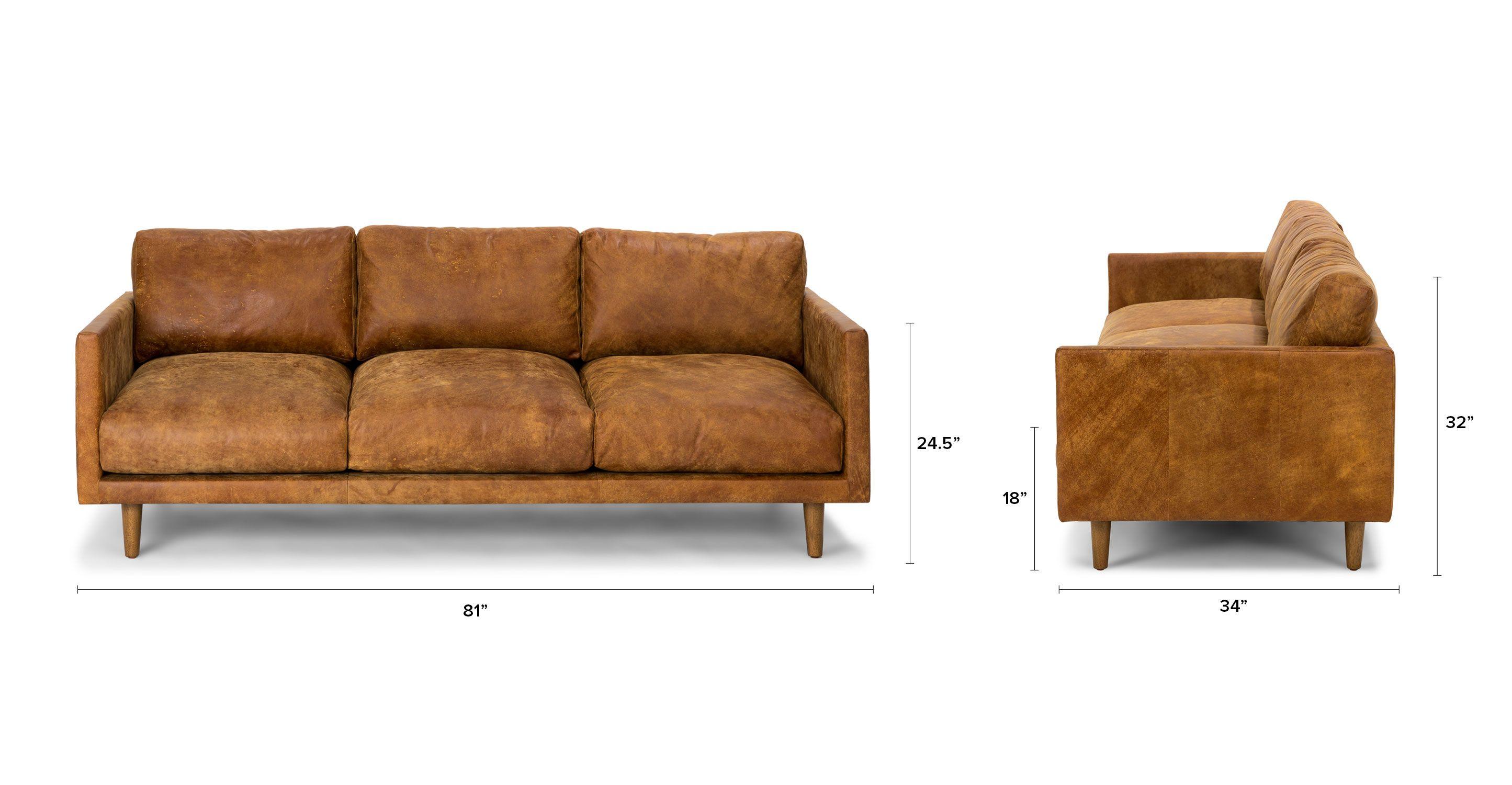 Etonnant Nirvana Dakota Tan Sofa   Sofas   Article | Modern, Mid Century And  Scandinavian