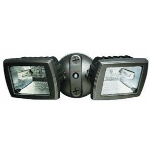 Cooper Lighting Tmq150 300w Compact Twin Head Light Type Halogen Floodlight Bronze Flood Lights Bronze Security Lights