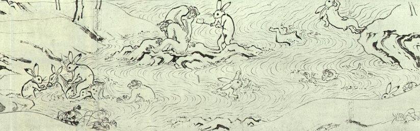 鳥獣人物戯画 世界の歴史まっぷ 鳥獣戯画 戯画 鳥獣