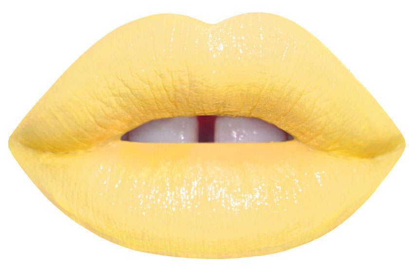 Unicorn New Yolk City Bright Yellow Matte Liquid Lipstick By Lime