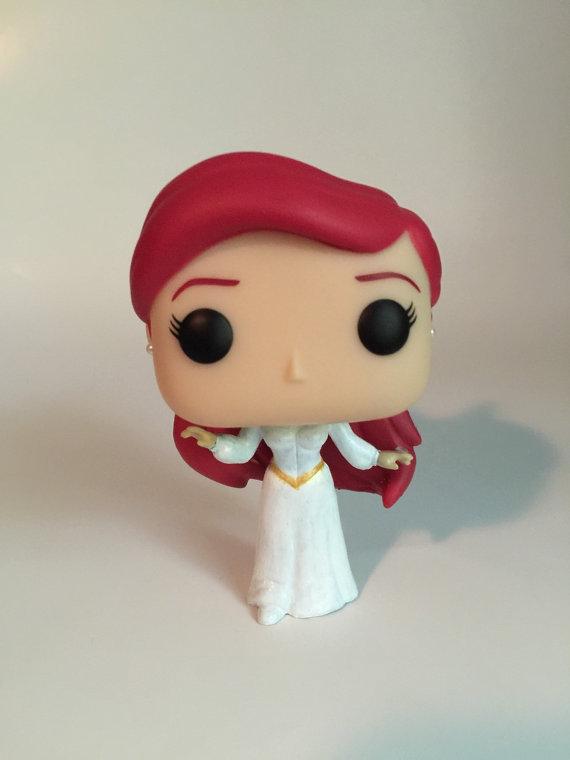 Custom Funko Pop Wedding Ariel From Disneys The Little Mermaid