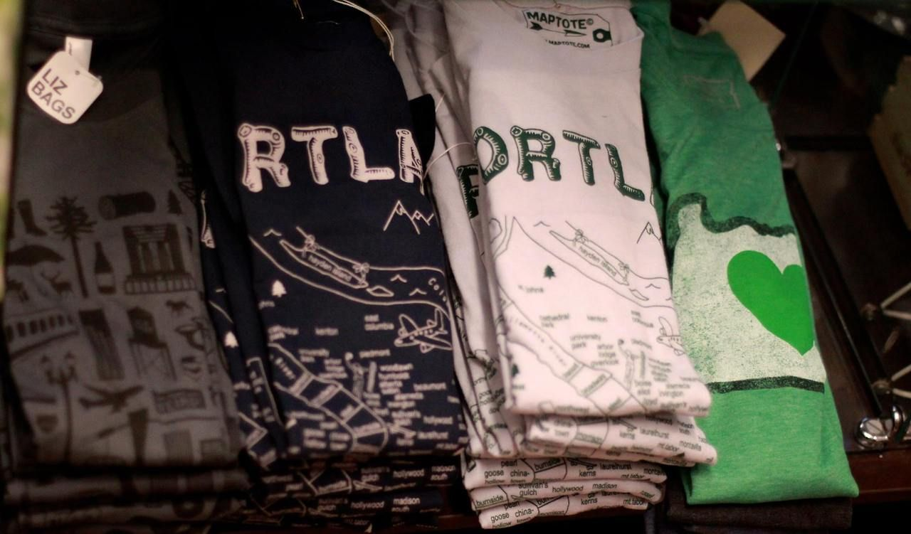 Our epic T-shirt selection is back to capacity including these awesome new Portland & Oregon tees!